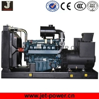 75kw low noise waterproof type diesel generator powered by Korea Doosan engine