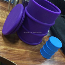 customized small fish tank silicone sealant for sticky wax product container storage