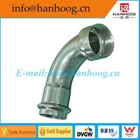Factory Direct Sales stainless steel female angle adaptor elbow (long type) DN 20 x RP3/4
