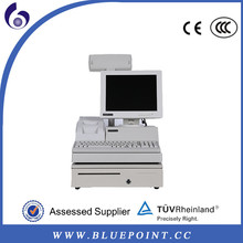 china supplier all in one Intel ATOM 1.6G 1G Memory 12 inch LCD pos terminal