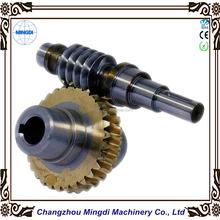Top Precision Brass/Bronze Copper Worm Gear & Worm Shaft