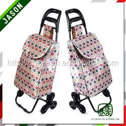 supermarket shopping trolley canvas washed travel bag for men