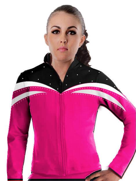 Gymnastic Warm Up Suits Rhythmic Gymnastics Jackets