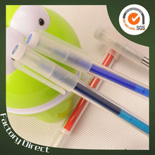 color changing milk plastic erasable gel ink pen(X-8851)