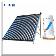 CE And KEYMARK TEST Certificated European Style Split Pressurized Solar Water Heater (double coil copper 200liter)