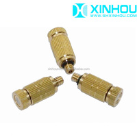 Brass vegetable retain freshness agriculture spray misting nozzle
