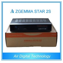 IN STOCK!!Zgemma-star 2s cccam satellite receiver twin tuner dvb s2 clone vu duo