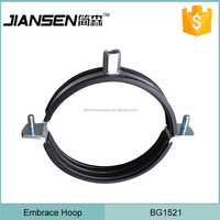 Electric pole Overhead cable pipe alignment clamp