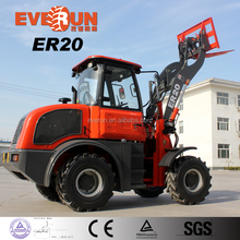Qingdao Everun ER20(2.0Ton) New Condition Front End Loader Mini Wheel Loader With CE Approved For Sale