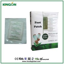 Good foot health patch with certificate ,14pcs/box in Tianjin factory
