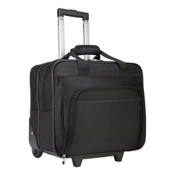LT1019 High Quality Black 16 Inch Laptop Trolley Bag
