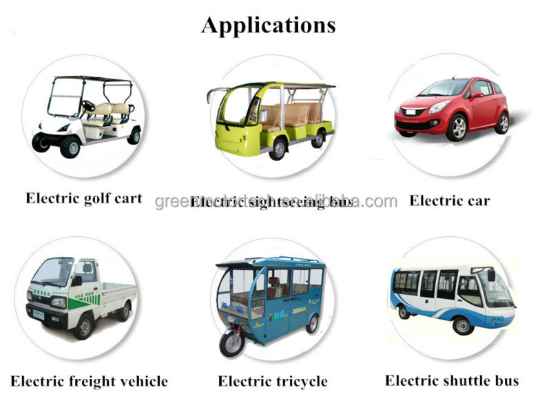 Excellent 2kw--10 kw electric drive system for electric cart