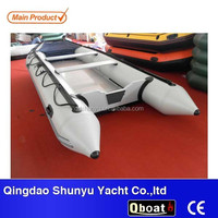 CE 2015 15.5ft 10 passengers folding inflatable rubber boat for sale