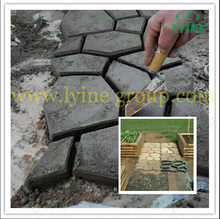 Popular Garden path plastic Recycled Paving WalkMaker mould DIY garden tools for making a pathway pavement