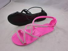 Fashion flat jelly sandal for women