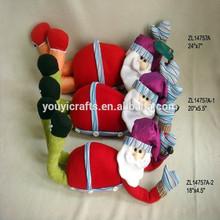 decoración de navidad santa