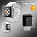 2015 que vem de novo! 9 h 0.26mm ultra fino de alta qualidade de vidro temperado claro protetor de tela 100% ajuste perfeito para a apple relógio
