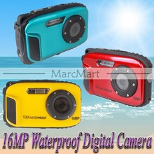 Keedox 16MP Digital Camera 10m waterproof 2.7'' TFT LCD 8x Digital Zoom for Underwater Photography#CG003&CG004&CG012