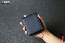 Luxury Brand Fashion 100% Genuine Leather Cowhide Men Short Bifold Wallet Coin Purse With Zipper Pocket Wallets For Man