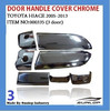 toyota body kits #000335 hiace door handle cover chrome for hiace 2005,hiace van,commuter,KDH200