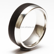 R4261 contmporary metal bands stainess steel finger bands
