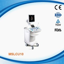 Portable 4D color doppler ultrasound equipment MSLCU10-C with CE ISO