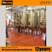 Red copper 1000l beer brewing equipment with UL certificated