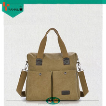 new arrival product fashion customized designer handsome wholesale lightweight men canvas handbag for cheap
