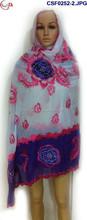 2014 Muslim scarf,embroider scarves,shawls,wrap,pashmina CSF0252-2