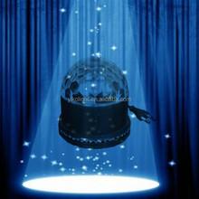 2015 new mini DJ light LED music crystal magic ball stage light high power stage light