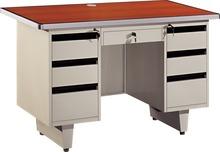 Modern sDurable steel cheap modern office desktaff tall steel office desk / computer table