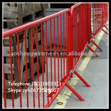 new product police barrier/Portable Steel Barricade for police to control large gatherings and riots made in china