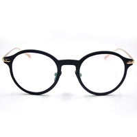 gold metal glasses frames custom made eyeglass frames new model optical spectacle