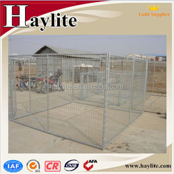 galvanized easily assembled outdoor dog kennel wholesale