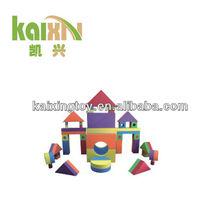 De plástico para la educación juguetes de los ladrillos para los niños