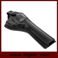 Tactical Leather Revolver Pistol Holster For Gun