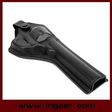 Tactical Leather Revolver Pistol Holster For Gun