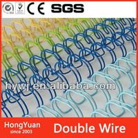 Minerals & Metallurgy metal spiral binder , double wire spiral binder , double loop wire binder