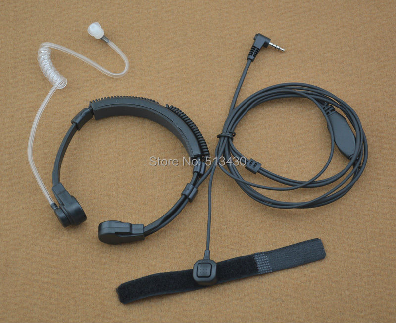 3-5mm-1-Pin-Y-plug-VOX-Throat-MIC-font-b-Microphone-b-font-with-font
