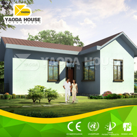 Easy install prefabricated summer house