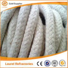 Refractory high temperature ceramic fiber rope gasket
