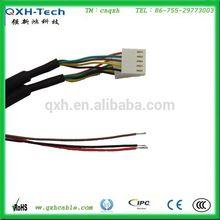 de alta calidad 5 pin conector del mazo de cables de la fabricación