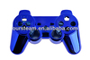 wholesale chrome blue housing shell replacement for sony PS3 controller