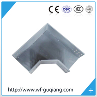 Galvanized steel outdoor cable tray Tees without cover