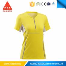 2015 original design t shirt girls high neck t-shirt ---7 year alibaba experience
