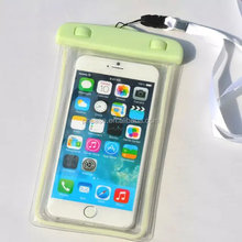 Summer time outdoor sports cell phone waterproof pouch