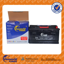 DIN standard auto MF starter battery 12volt 100 capacity battery best auto battery