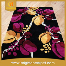 Fashionable 3D style design wool hand tufted rug