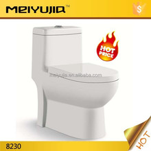 Chaozhou supplier siphonc and washdown ceramic one piece toilet wc