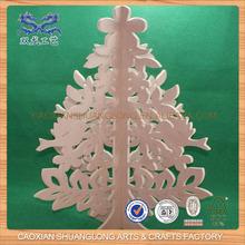 madera tallada del árbol de Navidad